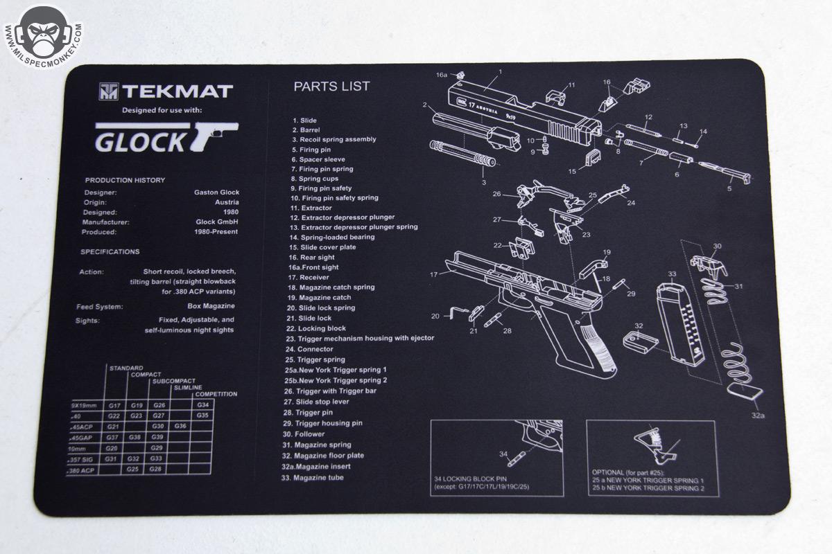 Tekmat Firearm Mats