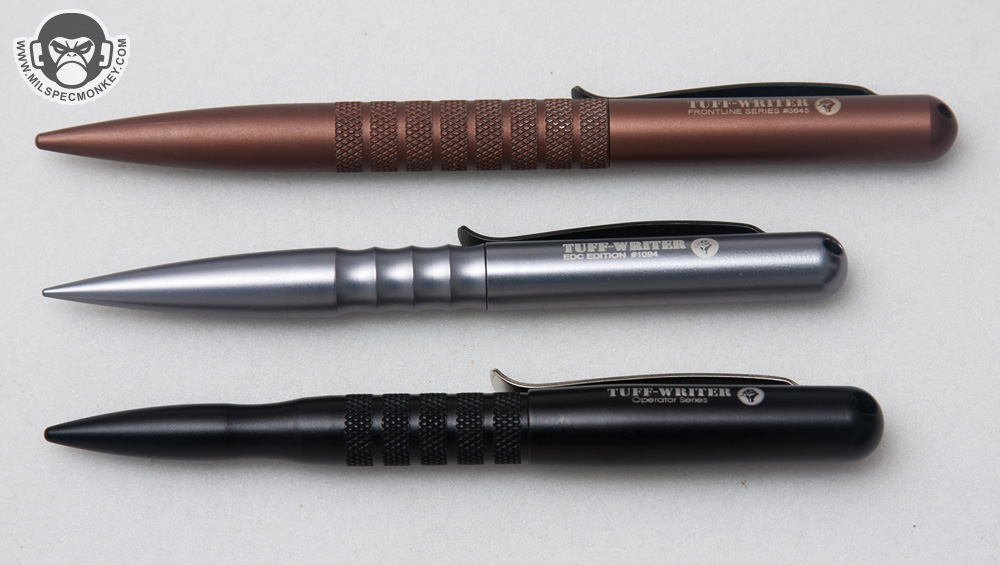 You may have noticed how the end tapers down which brings up one of my  favorite changes; the cap can now be placed on the end while using using it  in pen ...